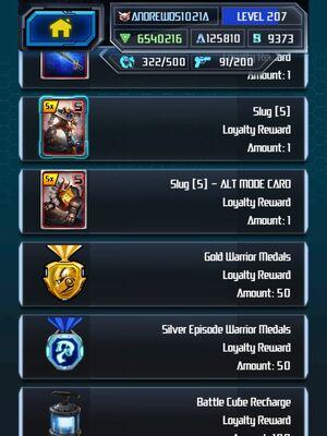Me Grimlock King Super Loyalty Rewards 2-5