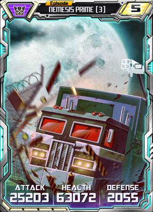Nemesis Prime 3 Alt