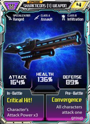 Sharkticons 1 Weapon