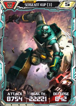 Sergeant Kup 3 Robot
