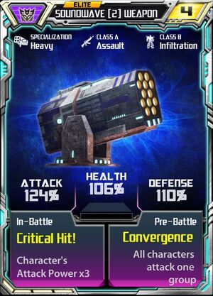 Soundwave (2) Weapon