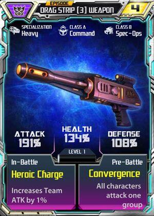 Drag Strip 3 Weapon