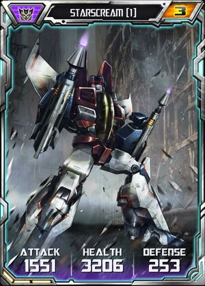 Starscream (1) - Robot