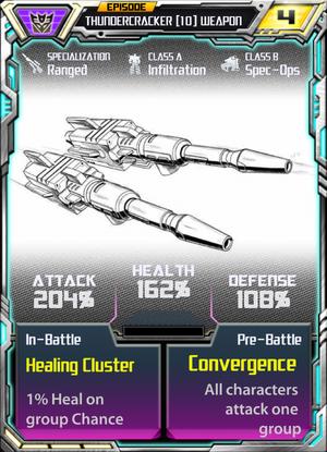Thundercracker 10 Weapon