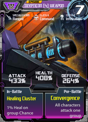 Trypticon 4 Weapon