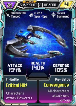 Sharpshot (2) Weapon