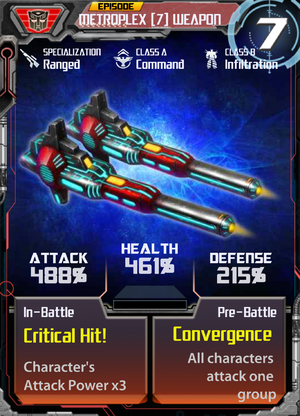 Metroplex 7 Weapon