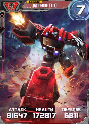 Ironhide 10 Robot