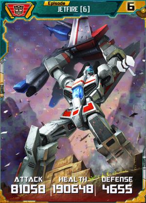 Jetfire 6 Robot