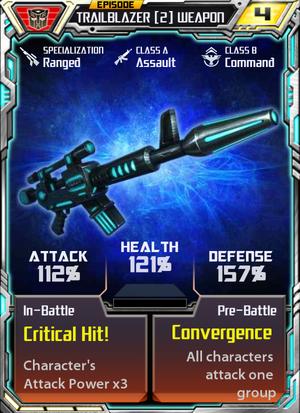 Trailblazer 2 Weapon