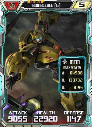 Bumblebee 6 Robot