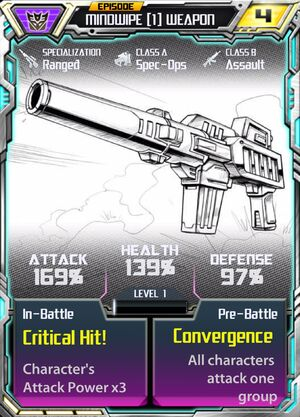 Mindwipe 1 Weapon