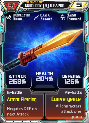 Grimlock 8 Weapon