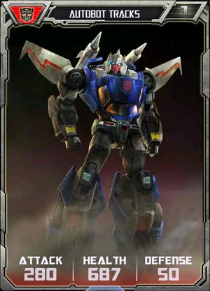 (Autobots) Autobot Tracks - Robot