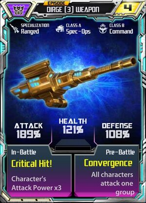 Dirge 3 Weapon