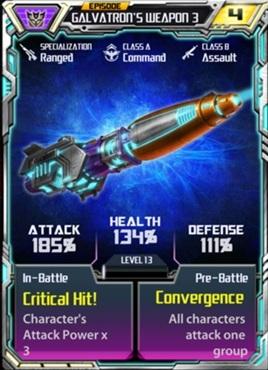 Galvaton 3 Weapon