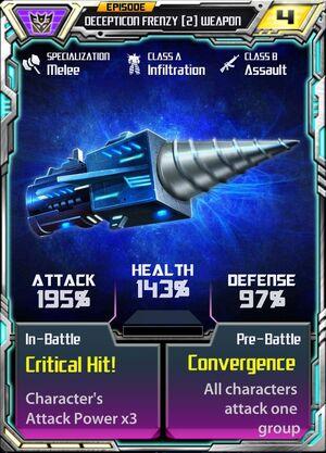 Decepticon Frenzy 2 Weapon