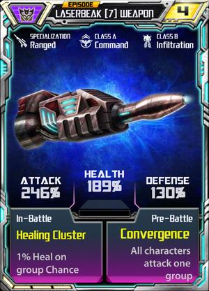Laserbeak 7 Weapon