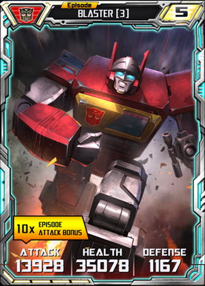 Blaster 3 Robot