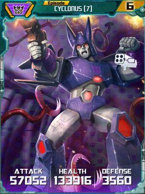 Cyclonus 7 Robot
