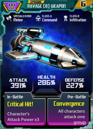 Ravage 8 Weapon