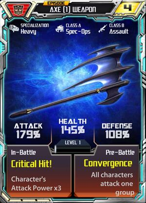 Axe 1 Weapon