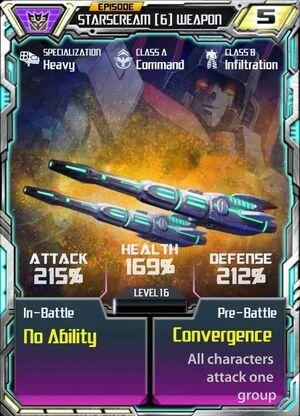 Starscream 6 Weapon