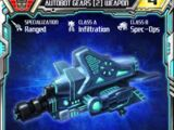 Autobot Gears (2) Weapon
