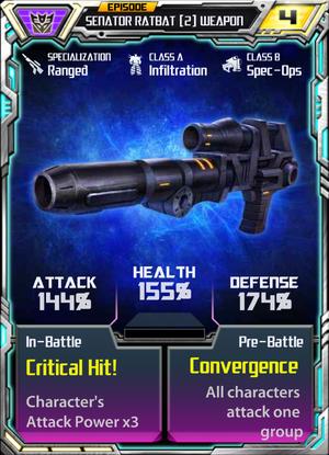 Senator Ratbat 2 Weapon