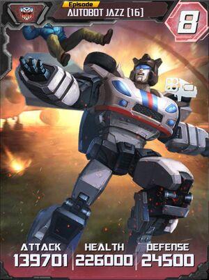 Autobot Jazz 16 Robot