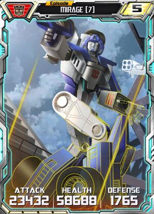 Mirage 7 Robot