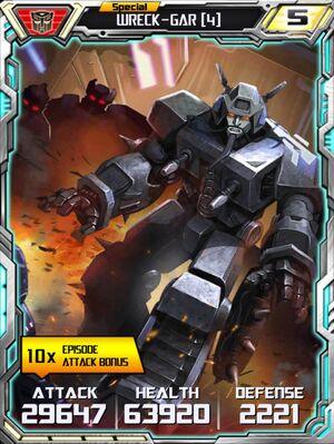 Wreck-Gar 4 Robot
