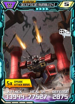 Decepticon Rumble 4 E4