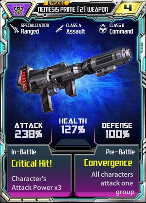Nemesis Prime (2) Weapon