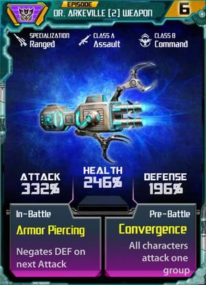 Dr. Arkeville 2 Weapon