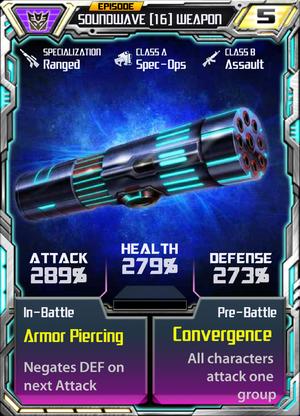 Soundwave 16 Weapon