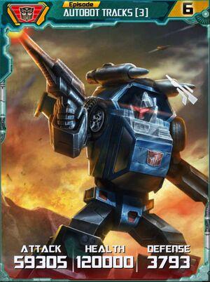Autobot Tracks 3 Robot