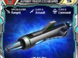 Autobot Tracks (3) Weapon
