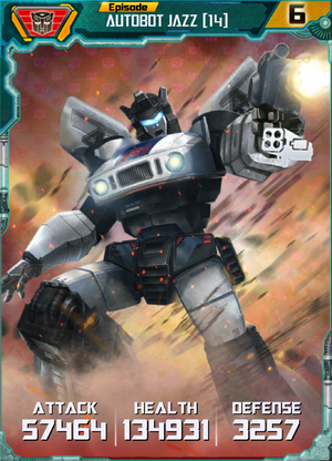 Autobot Jazz 14 Robot