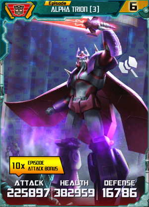 Alpha Trion 3 Robot