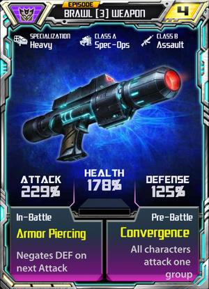 Brawl 3 Weapon