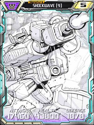 Shockwave 9 Robot