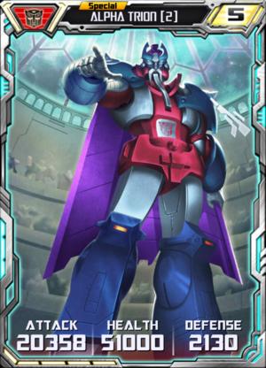 Alpha Trion 2 Robot