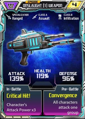 Onslaught (1) Weapon
