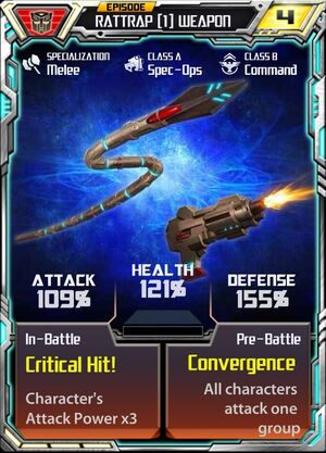Rattrap (1) Weapon