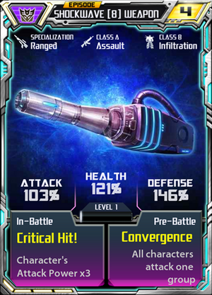 Shockwave 8 Weapon