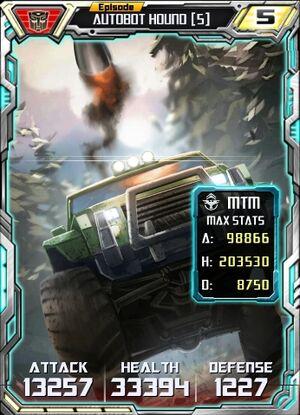 Autobot Hound 5 Alt