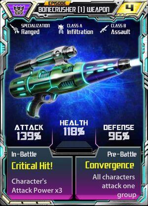 Bonecrusher 1 Weapon