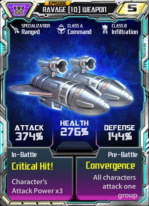 Ravage 10 Weapon