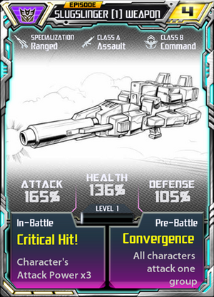 Slugslinger 1 Weapon